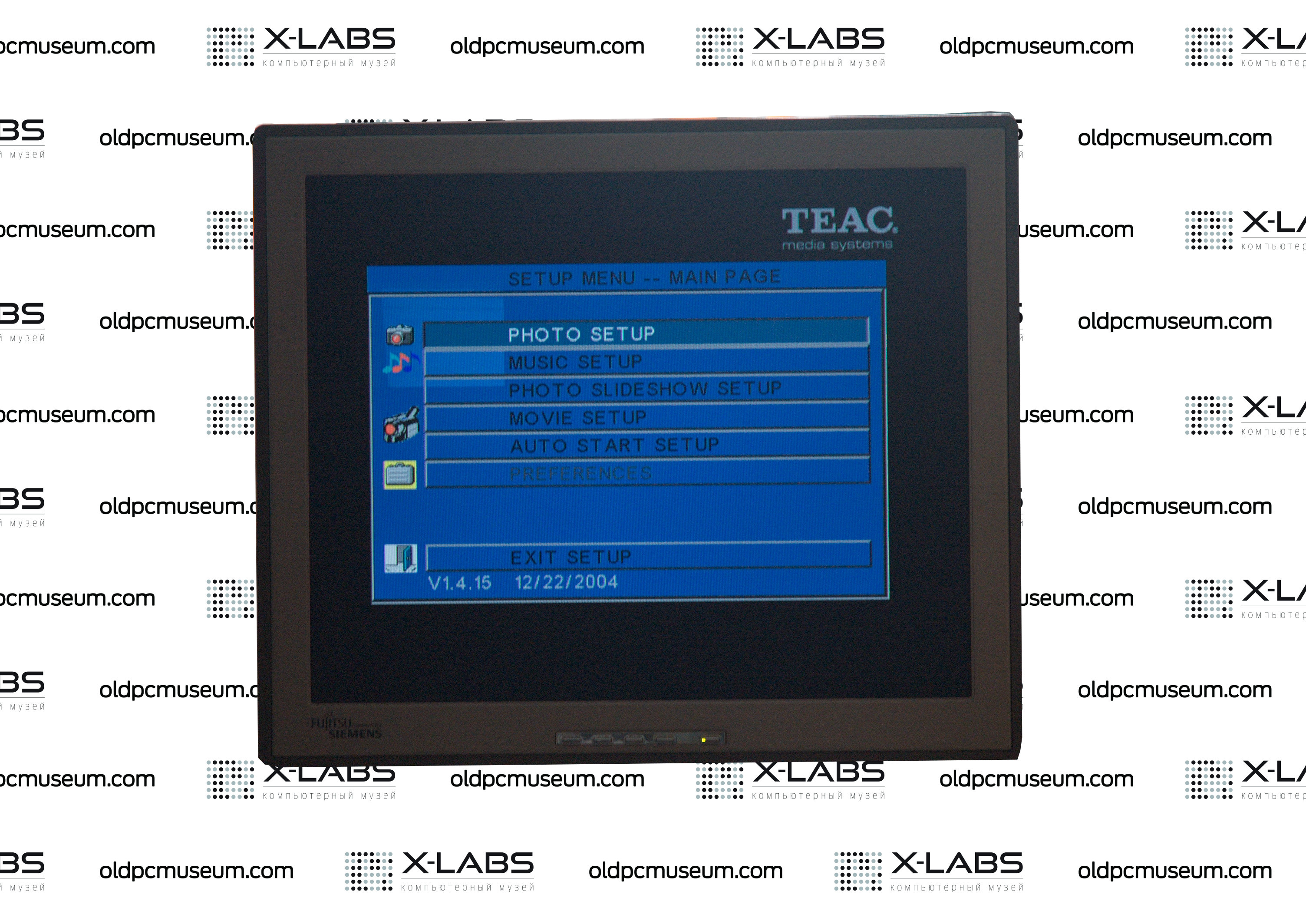 Teac HD15 TV Setup